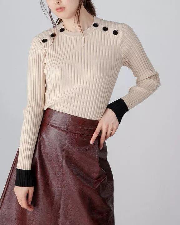 流行趋势 2021春夏哪些针织衫是主流单品?(图11)
