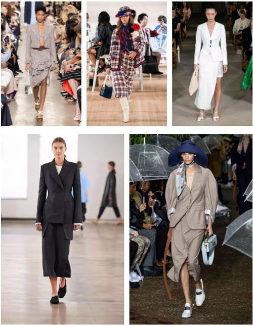 2020春夏女士西装 & 套装流行趋势(图11)