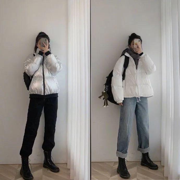 【鲜】小个子女生冬季显高穿搭,时髦保暖满分
