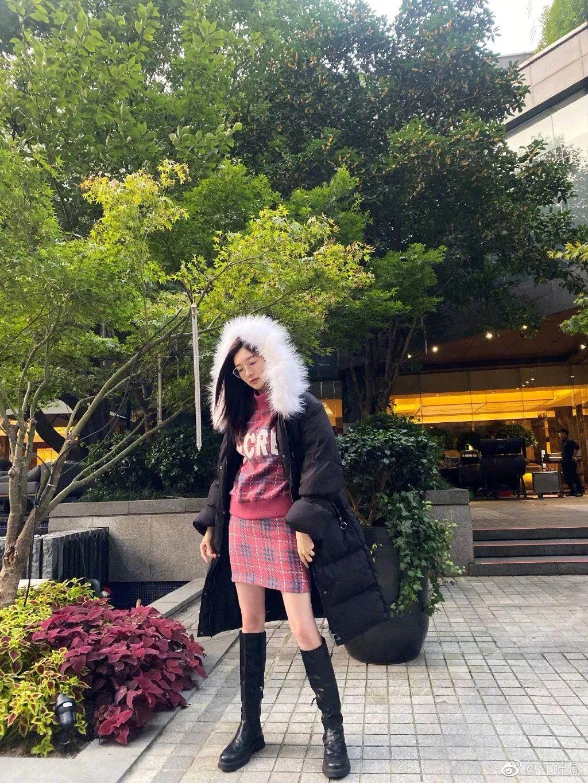 【鲜】毛衣 + 裙子,毛衣 + 毛衣,时髦炸了 !