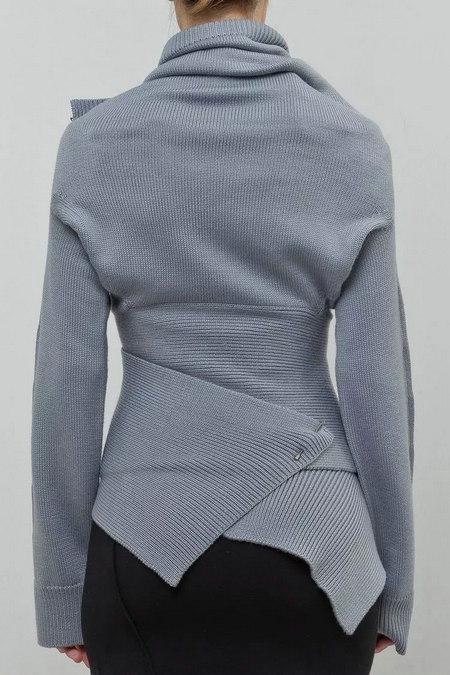 2020秋冬女士针织设计趋势 束腰设计(图36)