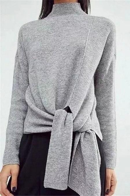 2020秋冬女士针织设计趋势 束腰设计(图29)