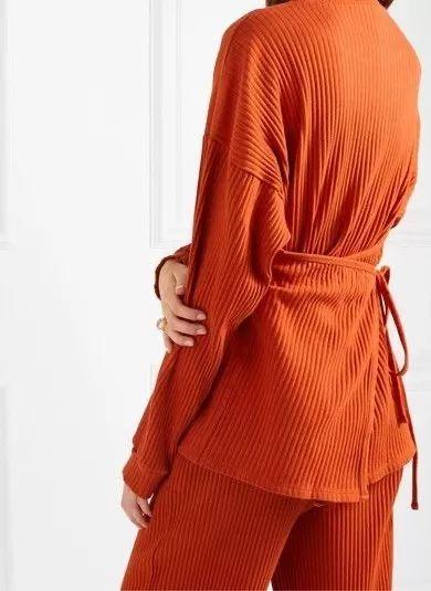 2020秋冬女士针织设计趋势 束腰设计(图5)