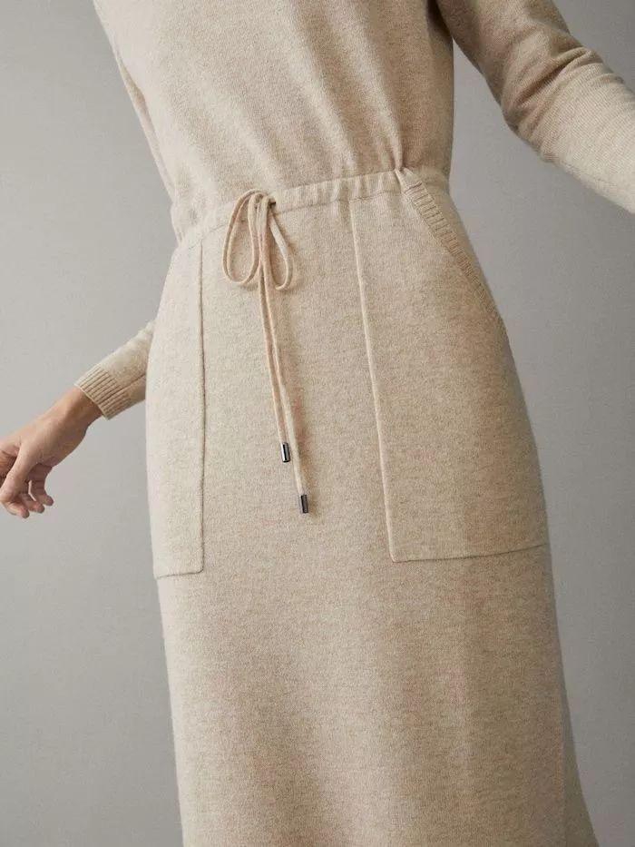 2020秋冬女士针织设计趋势 束腰设计(图26)