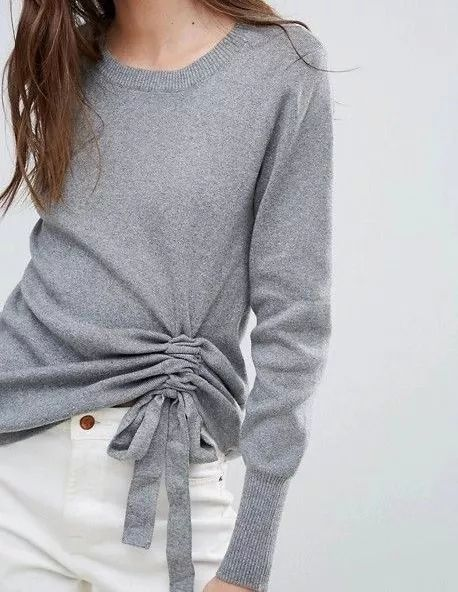 2020秋冬女士针织设计趋势 束腰设计(图24)