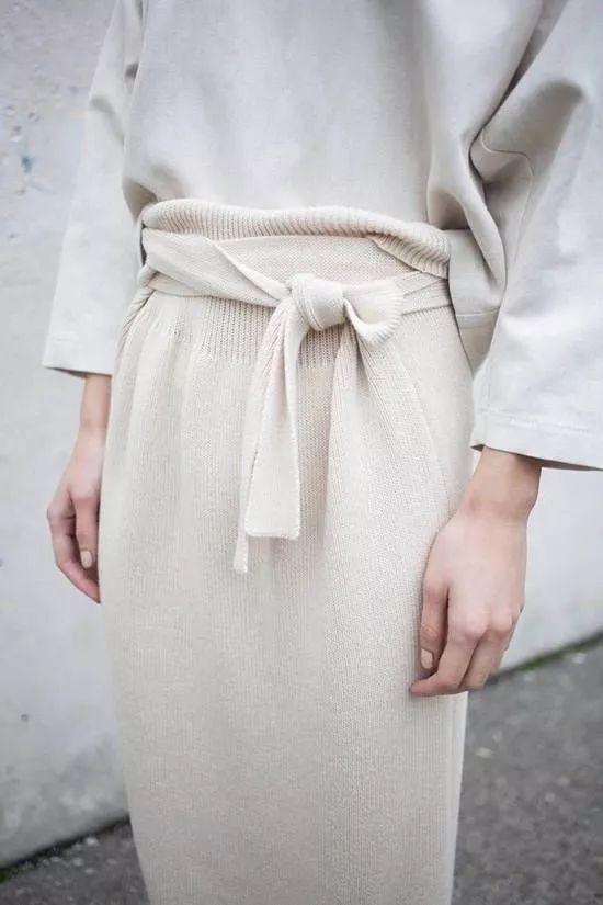 2020秋冬女士针织设计趋势 束腰设计(图28)