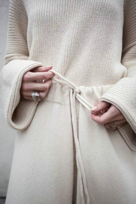 2020秋冬女士针织设计趋势 束腰设计(图22)