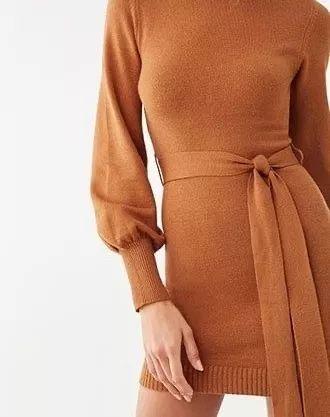 2020秋冬女士针织设计趋势 束腰设计(图42)