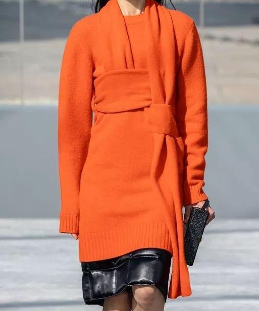 2020秋冬女士针织设计趋势 束腰设计(图37)