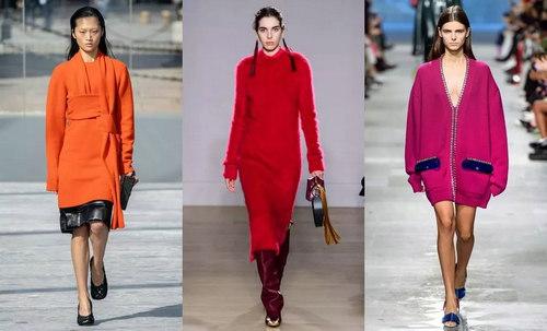 针织连衣裙 秋冬舒适的女装单品流行趋势(图4)