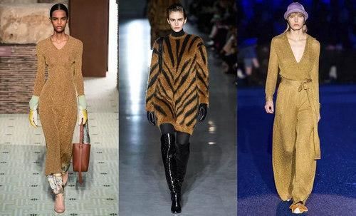 针织连衣裙 秋冬舒适的女装单品流行趋势(图2)