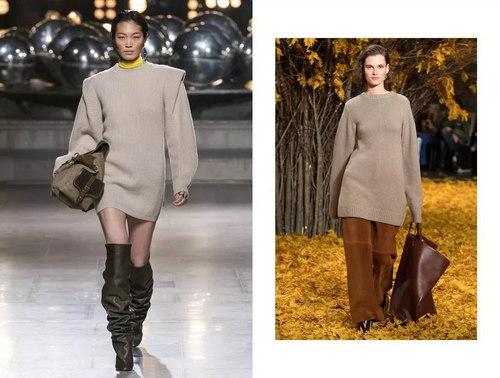 针织连衣裙 秋冬舒适的女装单品流行趋势(图3)