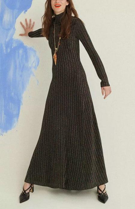 针织连衣裙 秋冬舒适的女装单品流行趋势(图7)