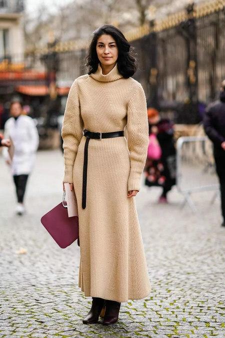 针织连衣裙 秋冬舒适的女装单品流行趋势(图23)