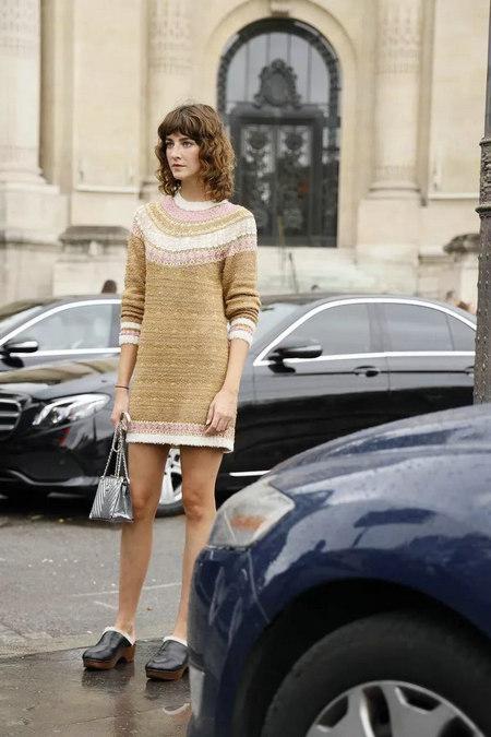 针织连衣裙 秋冬舒适的女装单品流行趋势(图29)