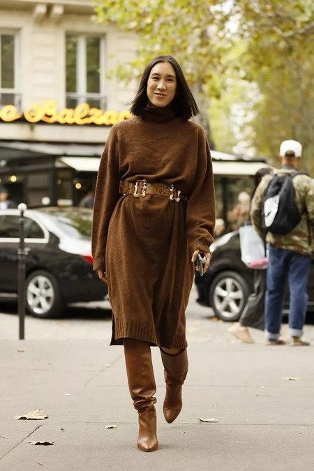 针织连衣裙 秋冬舒适的女装单品流行趋势(图30)