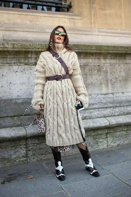 针织连衣裙 秋冬舒适的女装单品流行趋势(图26)
