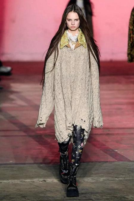 针织连衣裙 秋冬舒适的女装单品流行趋势(图5)