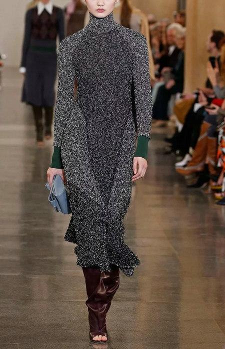 针织连衣裙 秋冬舒适的女装单品流行趋势(图12)
