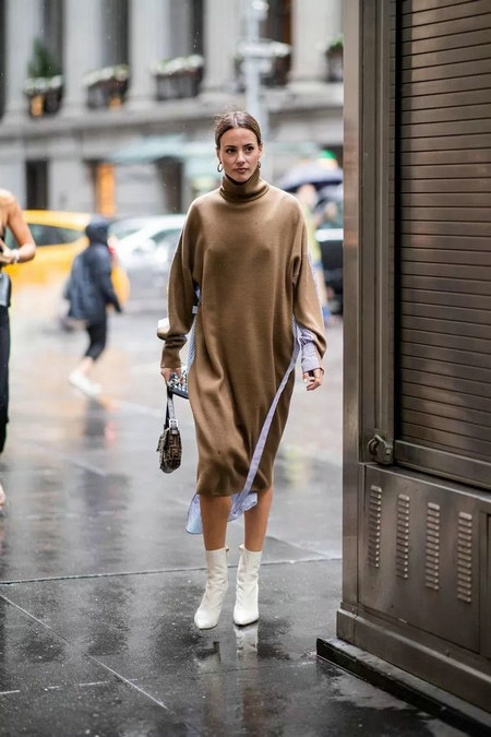针织连衣裙 秋冬舒适的女装单品流行趋势(图25)