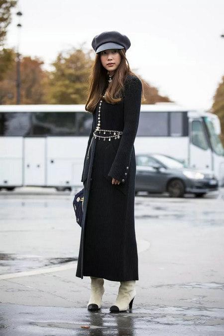针织连衣裙 秋冬舒适的女装单品流行趋势(图24)
