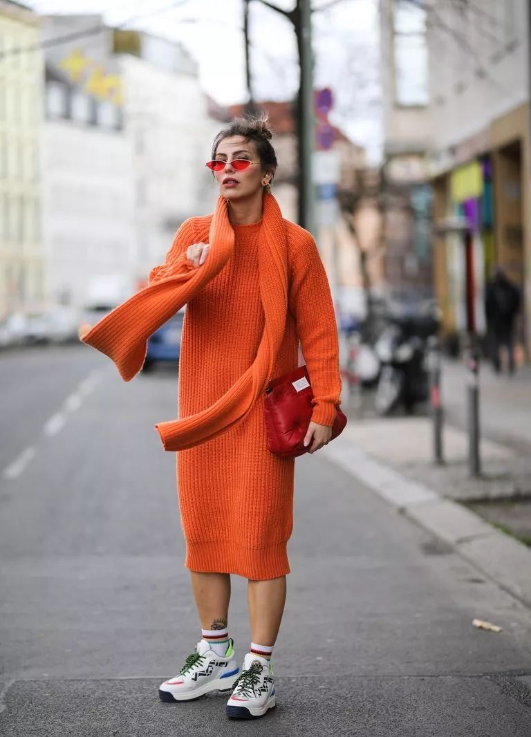 针织连衣裙 秋冬舒适的女装单品流行趋势(图27)