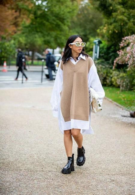 针织连衣裙 秋冬舒适的女装单品流行趋势(图28)
