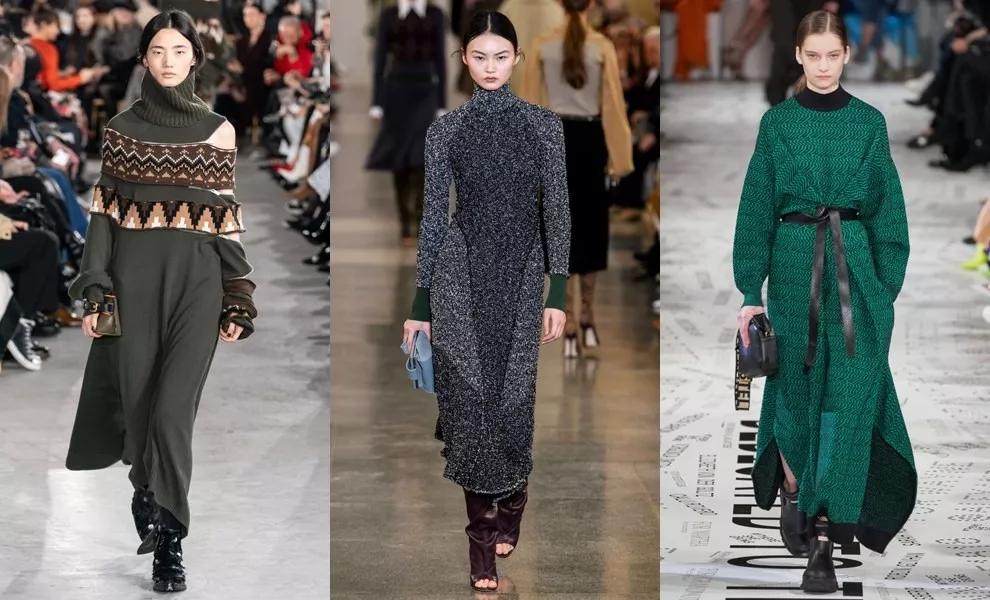针织连衣裙 秋冬舒适的女装单品流行趋势(图6)