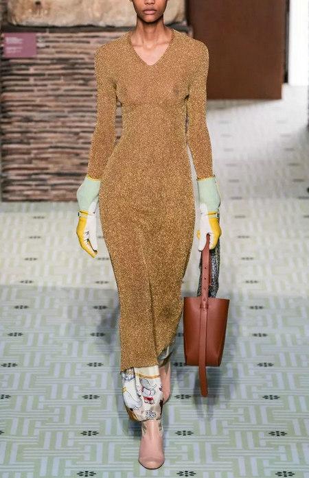 针织连衣裙 秋冬舒适的女装单品流行趋势(图14)