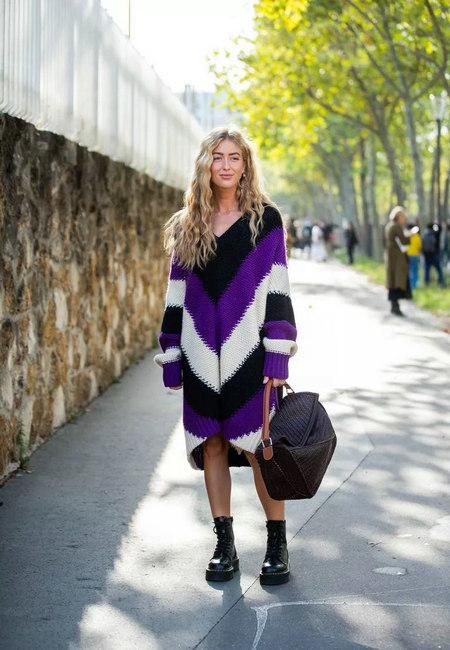 针织连衣裙 秋冬舒适的女装单品流行趋势(图31)