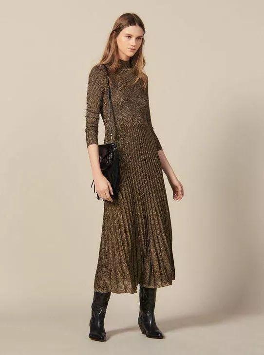 针织连衣裙 秋冬舒适的女装单品流行趋势(图19)