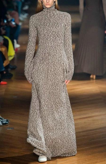 针织连衣裙 秋冬舒适的女装单品流行趋势(图16)