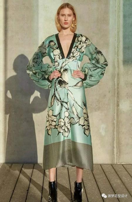 流行趋势预测 2020春夏连衣裙流行元素(图45)