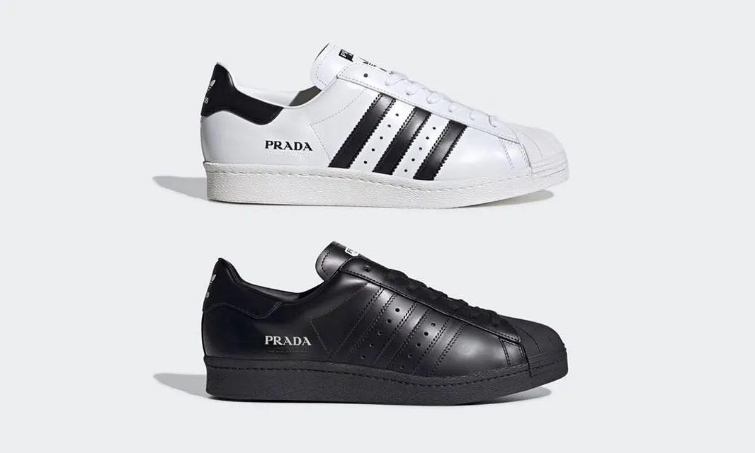 【丽】PRADA for adidas  Superstar