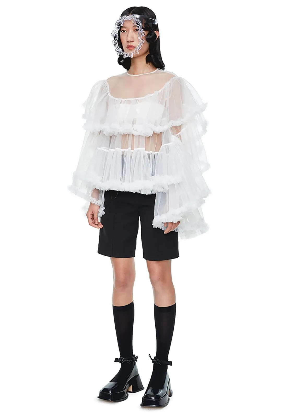 2021春夏中国女装流行趋势 上衣(图36)