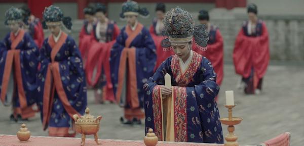 北宋后妃命妇礼衣与《清平乐》中的女子盛装