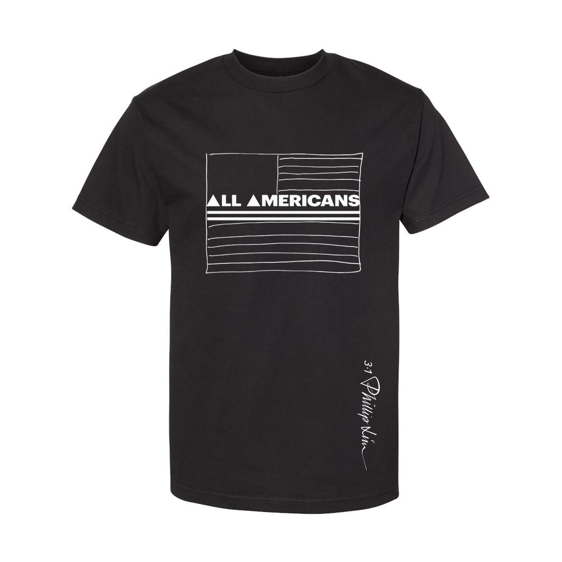 Phillip Lim's T-shirt for the All Americans Movement