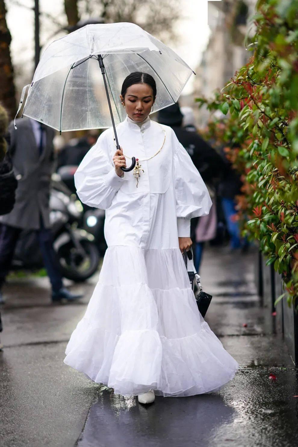 2020/2021秋冬系列中的超大碼連衣裙