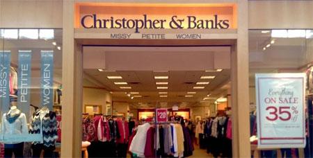 Christopher&Banks集团二季度线上渠道大涨70.9%