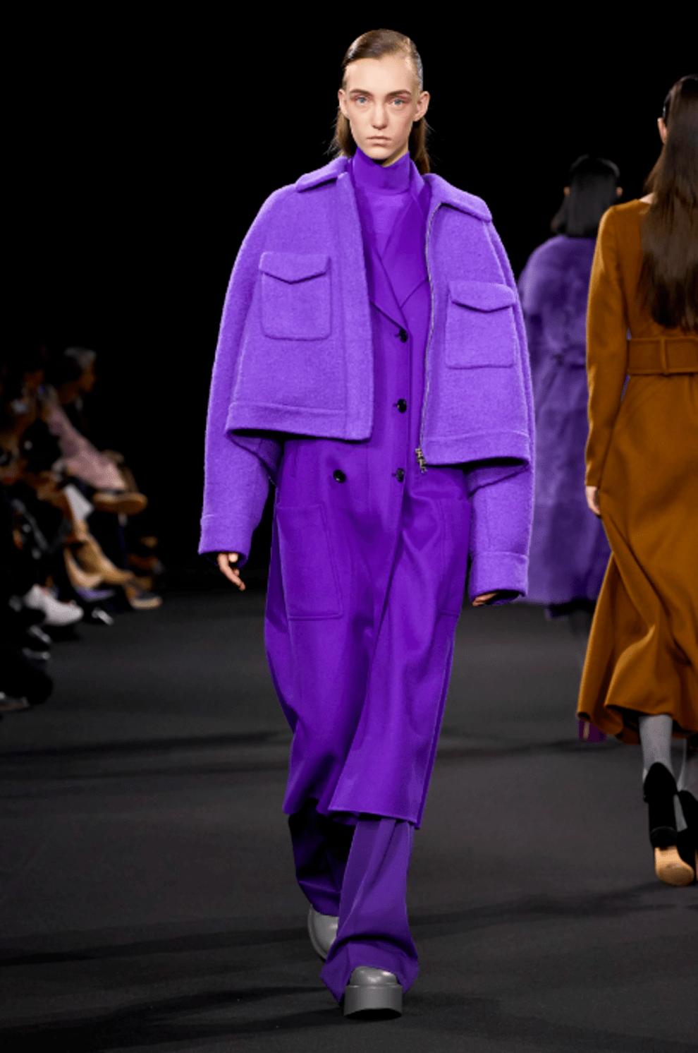紫色是这个冬天最时尚的颜色