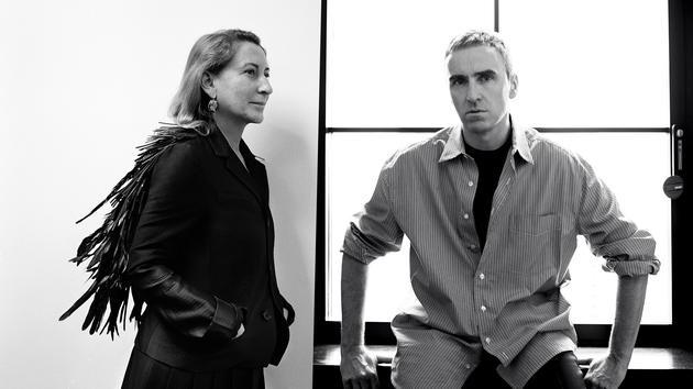 Miuccia Prada和Raf Simons获奖