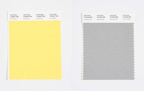 Pantone 2021年的主要颜色
