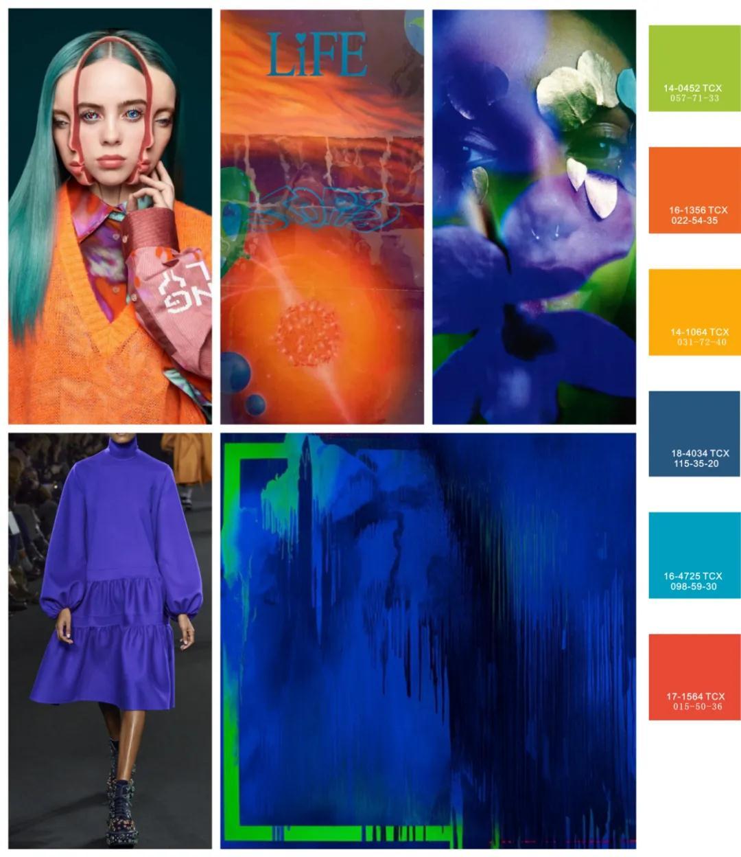 色彩趋势 | 2021秋冬女装色彩趋势概念(图10)