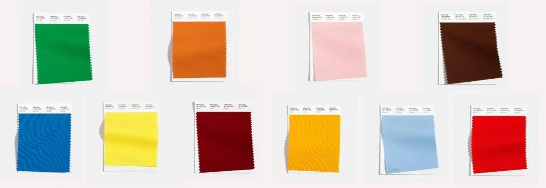 色彩趋势 Pantone发布2021秋冬伦敦时装周10大流行色(图1)