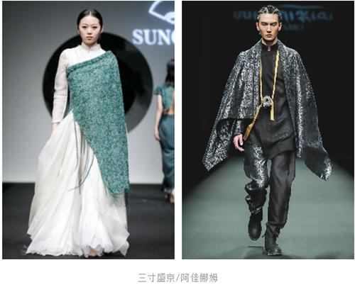 2021春夏中国国际时装周流行设计手法及元素分析(图7)