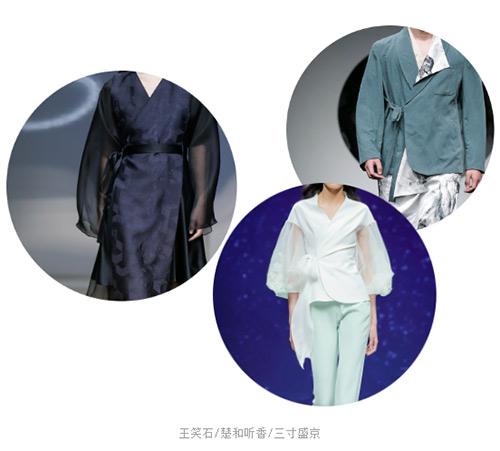 2021春夏中国国际时装周流行设计手法及元素分析(图2)