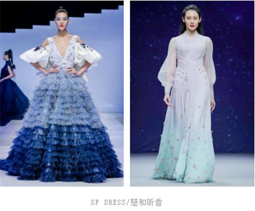 2021春夏中国国际时装周流行设计手法及元素分析(图22)