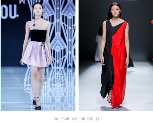 2021春夏中国国际时装周流行设计手法及元素分析(图9)