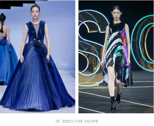 2021春夏中国国际时装周流行设计手法及元素分析(图13)