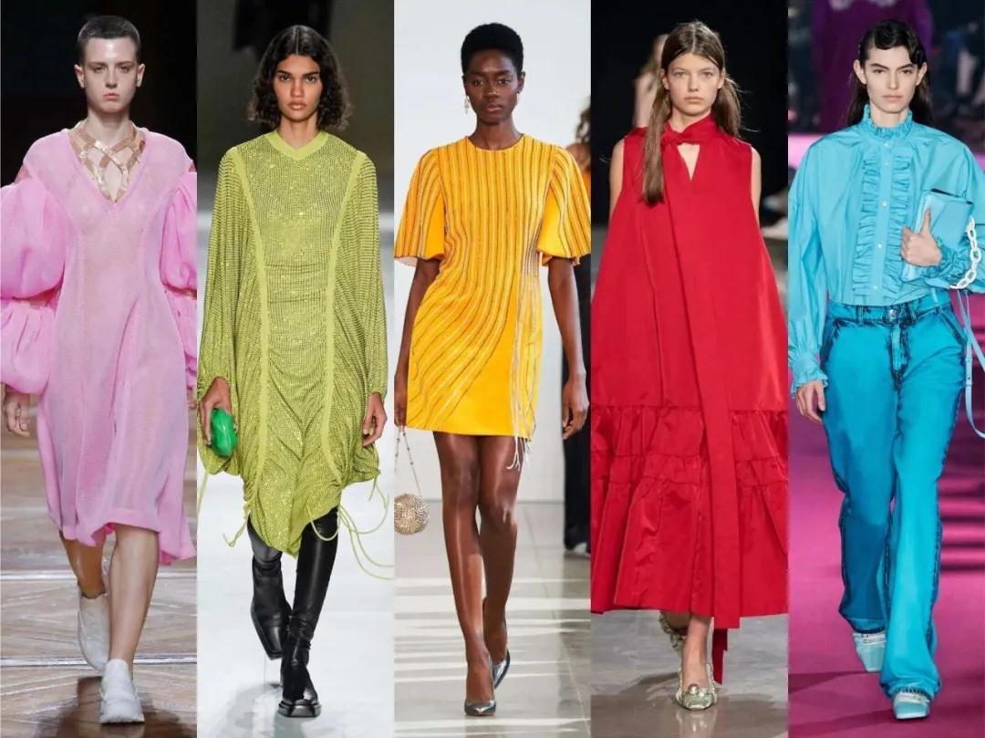 2021春夏女装流行色彩及元素 看完你就会买衣服了!(图2)